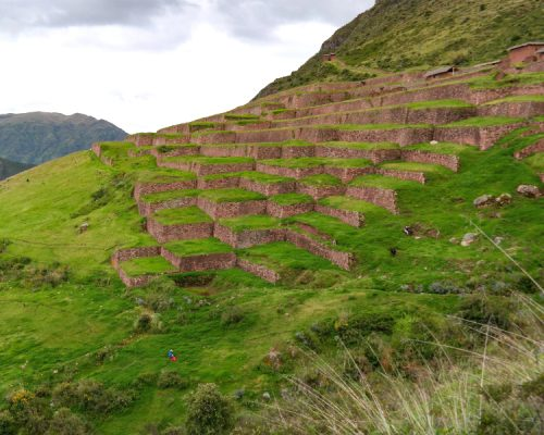Huchuy qosqo by inka trail trek