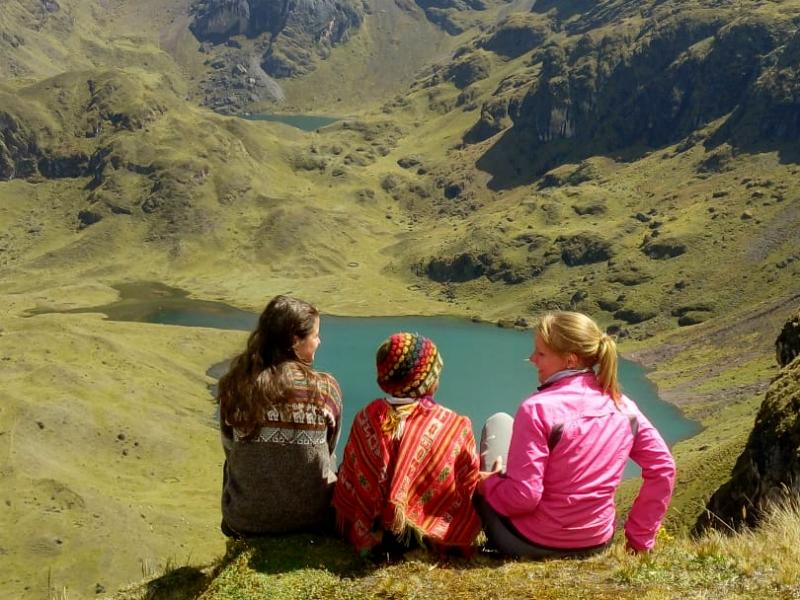 LARES TREK BY ECO PATH TREK by inka trail trek