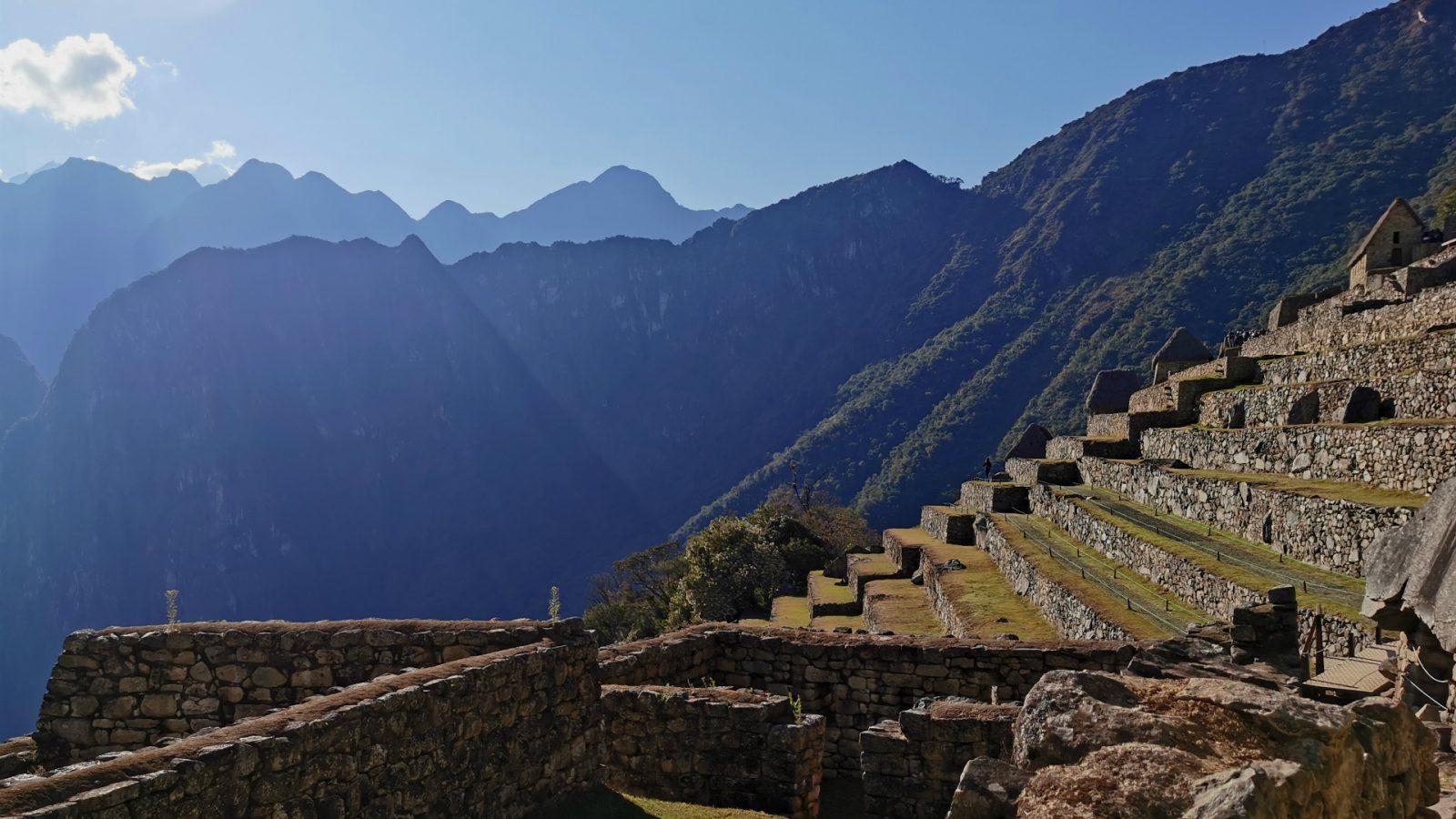 agriculture sector machu picchu by inka trail trek
