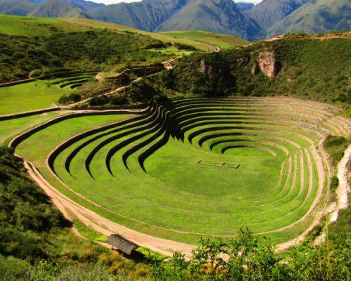 andenes de moray con inka trail trek