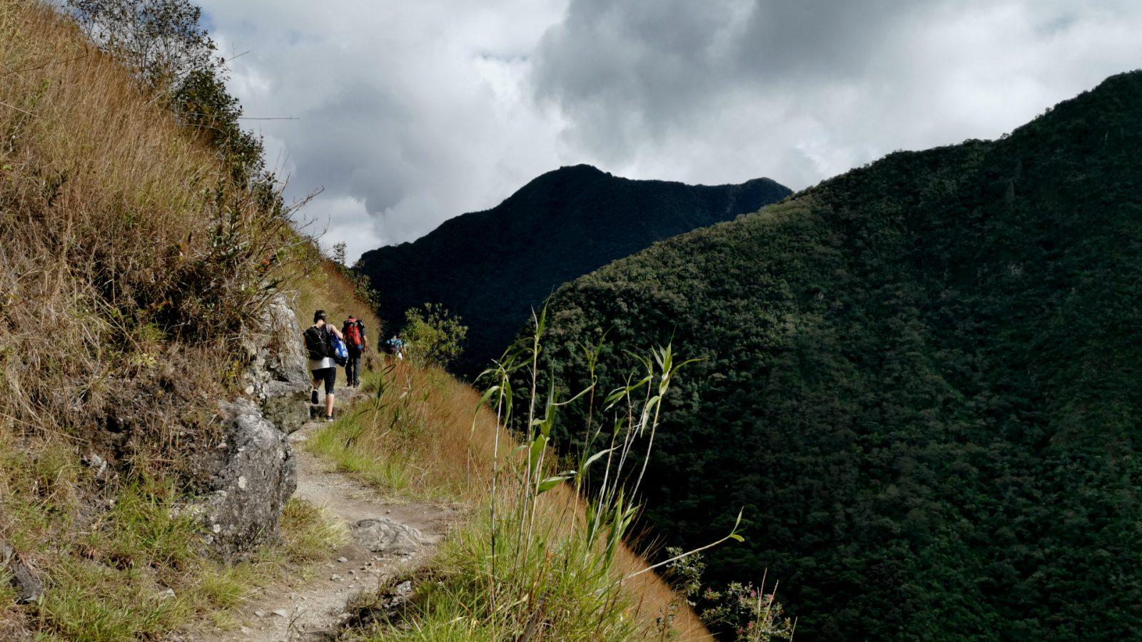 hiking to machu picchu by inka trail trek