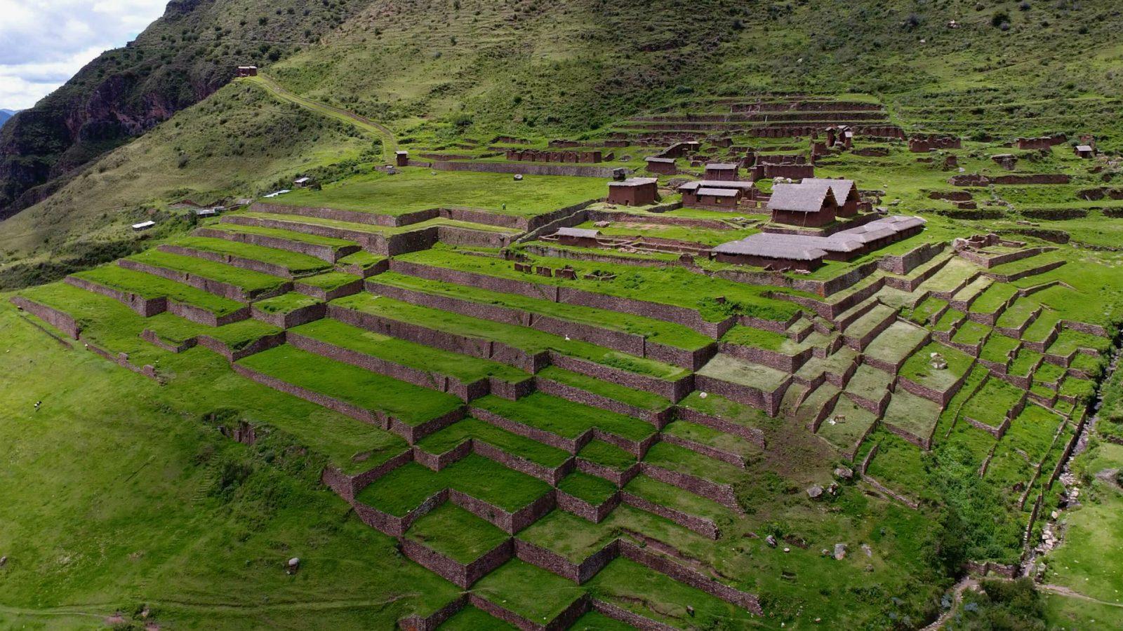 huchuy qosqo inka site by inka trail trek