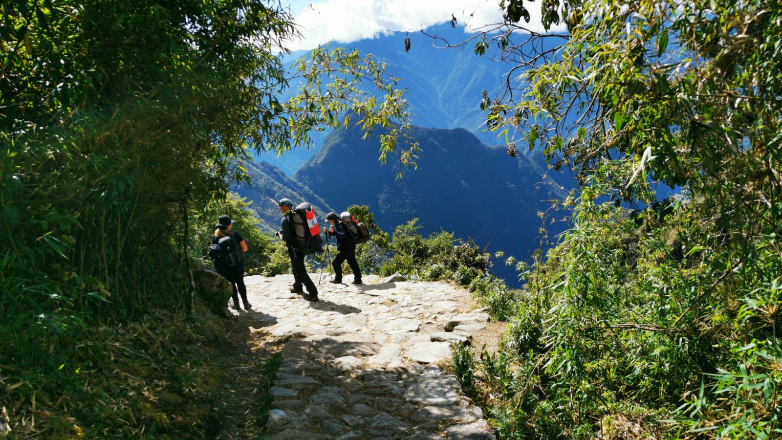 inka trail hike day 3