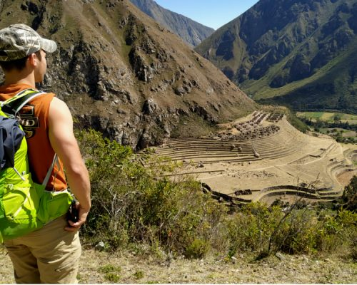 inka trail trek day 1
