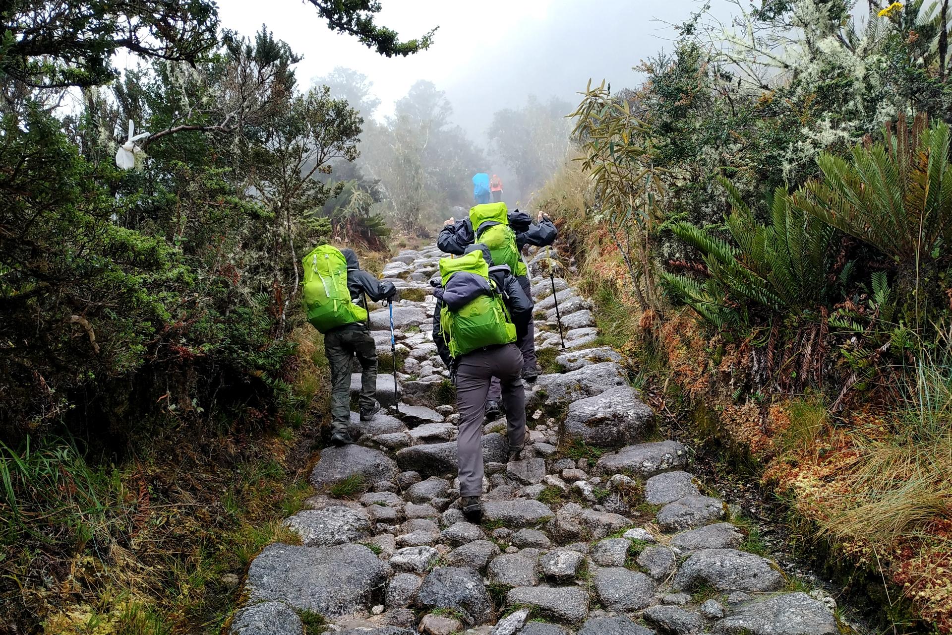 inka trail trek day 3