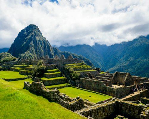 machupicchu ruins by inka trail trek
