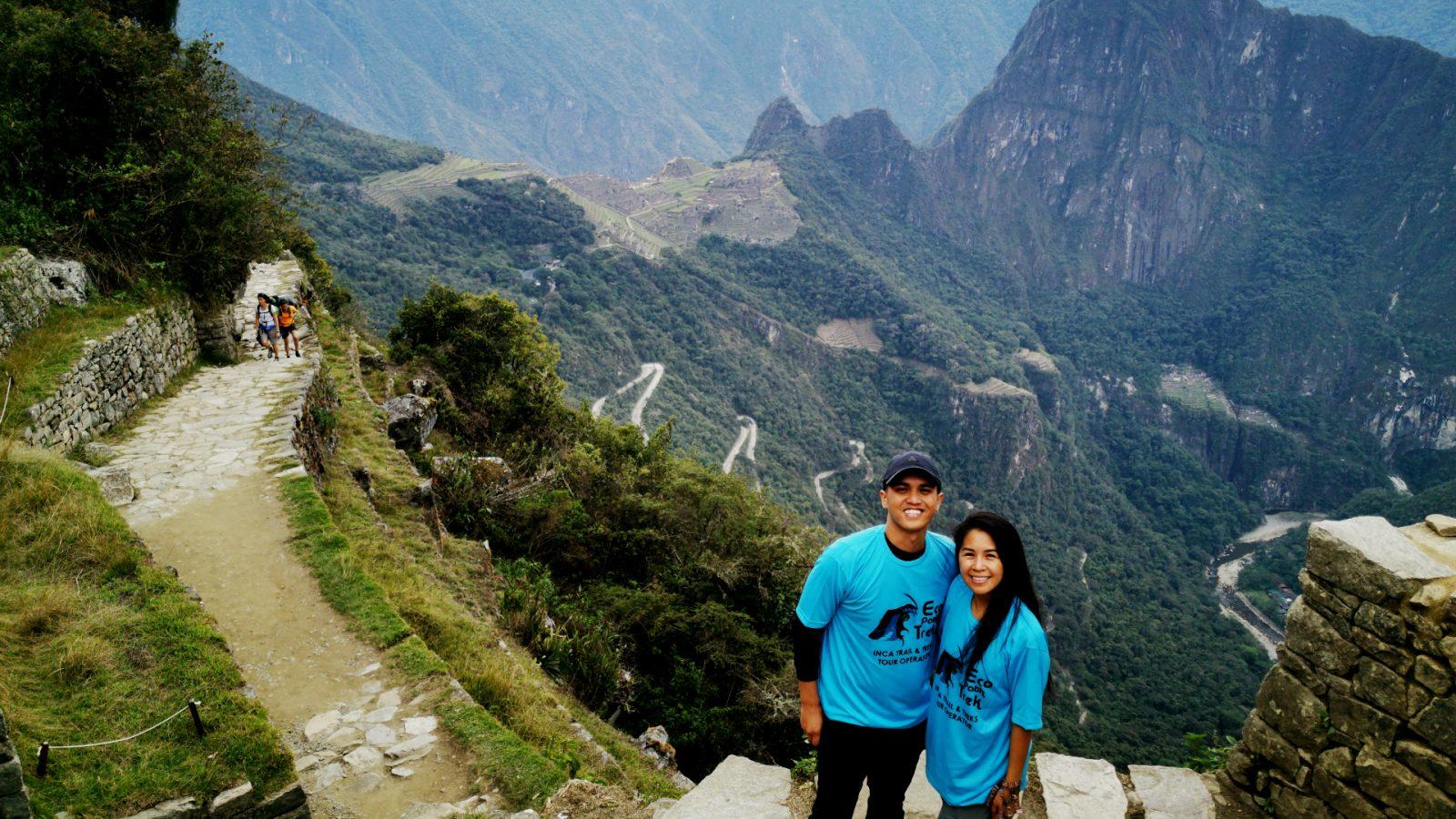 puerta del sol machu picchu con inka trail trek
