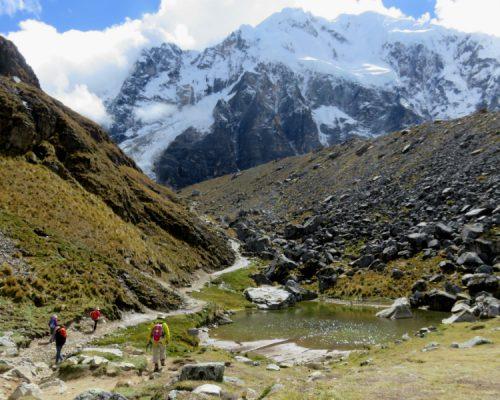 trek al salkantay con inka trail trek