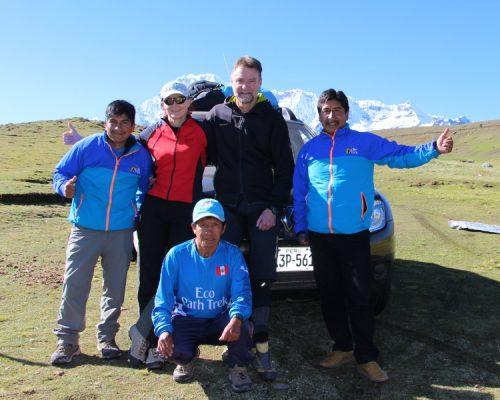 AUSANGATE HIKE DAY 1 by inka trail trek
