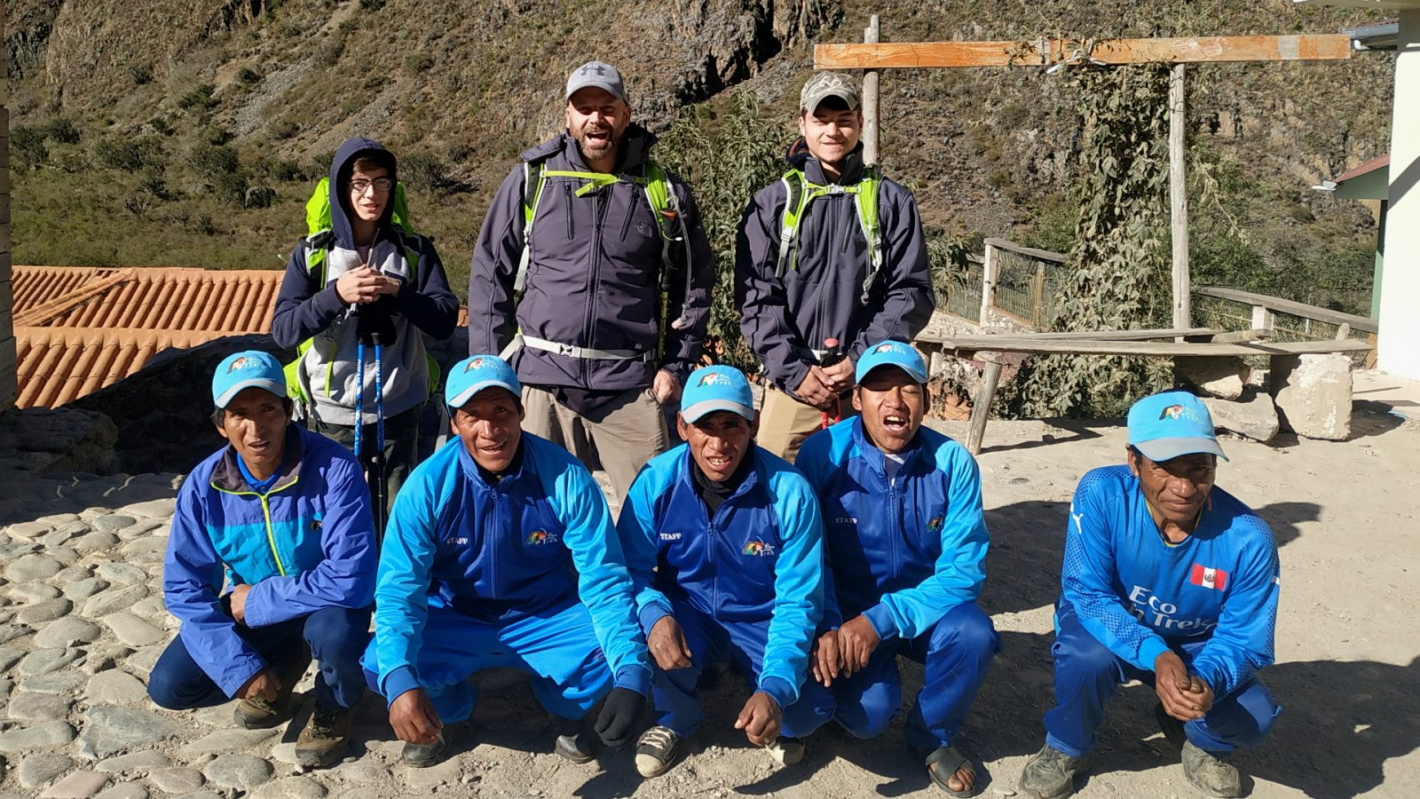 inca trail staff of inka trail trek