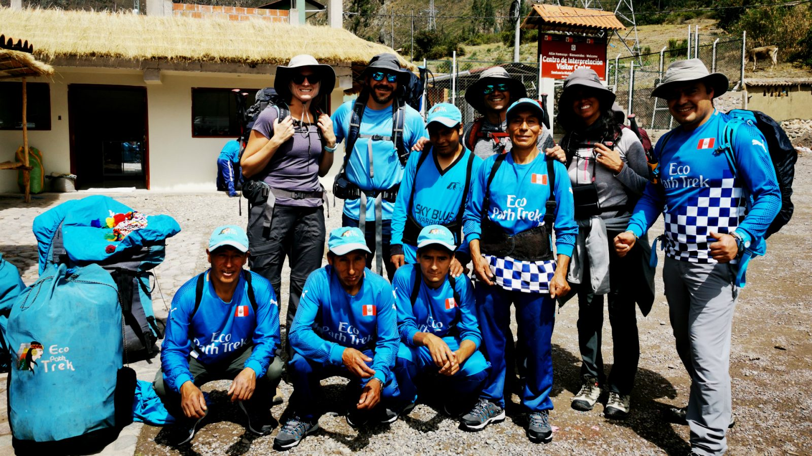 inka trail trek staff